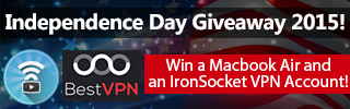 IronSocket and BestVPN Giveaway