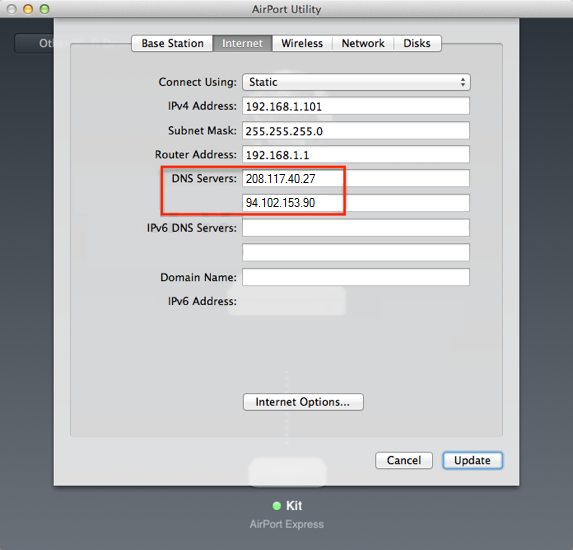 how to use bridge mode on airport extreme