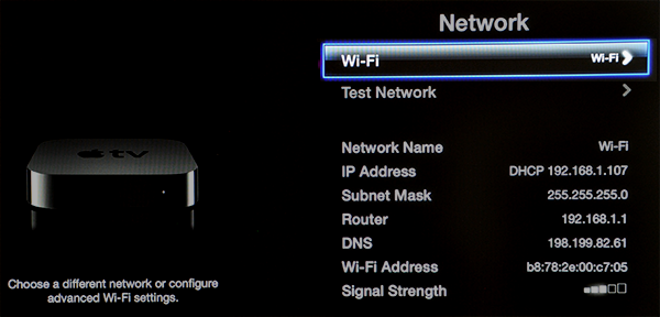 how to change dns on apple tv 4