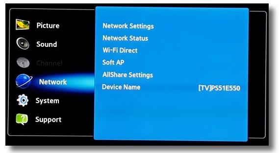 IronSocket - Samsung Smart TV DNS Proxy Setup Instructions